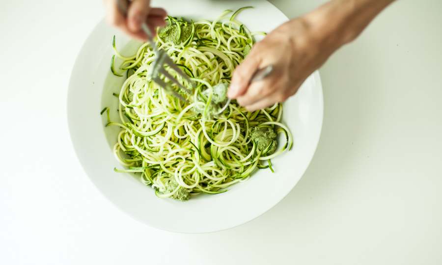 Zucchini Noodles (Food Loves Writing)