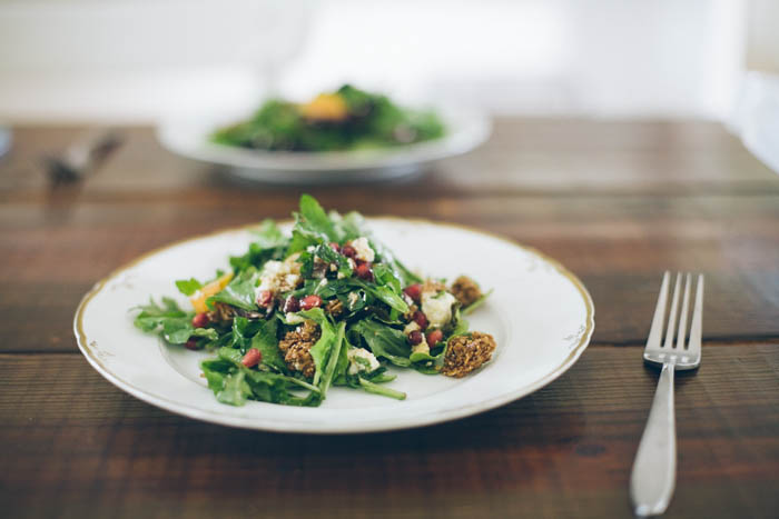 Salad with Granola (Food Loves Writing for Purely Elizabeth)